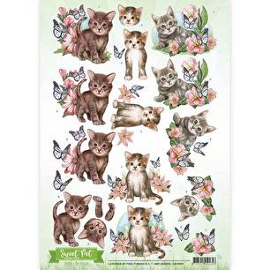 Amy Design 3D Klippark - Sweet Pet Cats - Amy Design 3D Klippark - Sweet Pet Cats