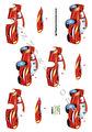 Dan design 3D Klippark - Blixten McQueen
