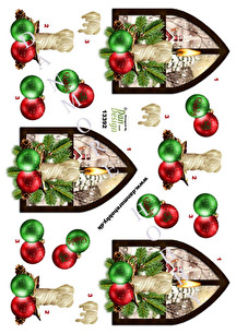 Dan design 3D Klippark - Julfönster - Dan design 3D Klippark - Julfönster