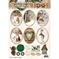 Studiolight Uststansade Toppers - Woodland Winter