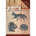 Yvonne Creations Dies - Autumn Colors - Forest Animals