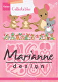 Marianne design Dies - Collectables Eline's Mice Family