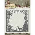 Yvonne Creations Dies - Celebrating Christmas - Scene Square Frame