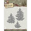 Yvonne Creations Dies - Celebrating Christmas - Pine Trees