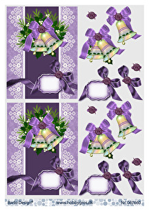 Barto Design - 3D Klippark - Julklockor - Barto Design - 3D Klippark - Julklockor