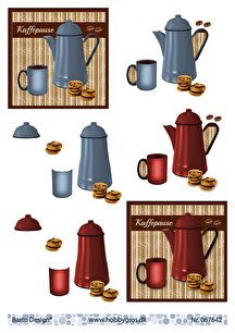 Barto Design - 3D Klippark - Kaffepause - Barto Design - 3D Klippark - Kaffepause