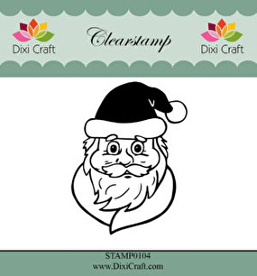 Dixi Craft - Clearstamp - Santa Claus - Dixi Craft - Clearstamp - Santa Claus