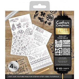 Crafter's Companion Foil Transfers - Ring out those bells - Crafter's Companion Foil Transfers - Ring out those bells