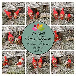 Dixi Toppers - Julnissar i färg - Dixi Toppers - Julnissar i färg