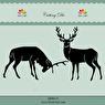 Dixi Craft - Dies - Reindeers - Dixi Craft - Dies - Reindeers