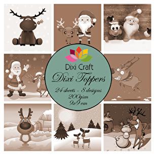 Dixi Toppers - Tomten & Rudolf - Dixi Toppers - Tomten & Rudolf