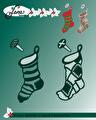 by Lene - Dies - Christmas Socks