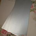 Papper - Enfärgat, 25 st - Silver/Glitter