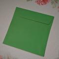 Kuvert, 10 st - 15x15cm - Grön