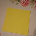 Kuvert, 10 st - 15x15 cm - Gul