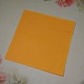 Kuvert, 10 st - 15x15 cm - Orange