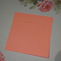 Kuvert, 10 st - 15x15 cm - Flamingo