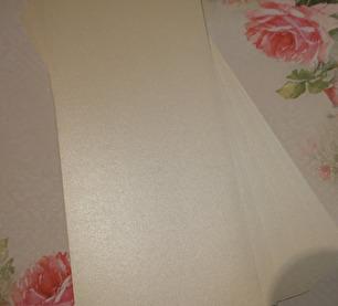 Papper - Enfärgat, 25 st - Beige/Glitter - Papper - Enfärgat, 25 st - Beige/Glitter