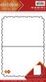 Card deco Dies - Frame Card Fantasy Curves, A5