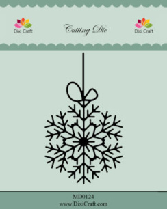 Dixi Craft - Dies - Hanging Snow Crystal - Dixi Craft - Dies - Hanging Snow Crystal