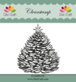 Dixi Craft - Clearstamp - Christmas Tree - 2
