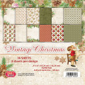 Craft & You - Pappersblock - Vintage Christmas