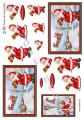 HM design 3D Klippark - Jultomten önskar God Jul