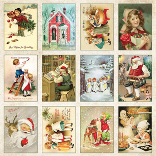 Craft & You - Klippark - Vintage Christmas 07 - Craft & You - Klippark - Vintage Christmas 07