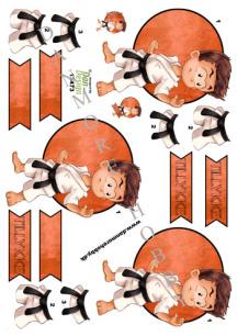 Dan design 3D Klippark - Karatekille - Dan design 3D Klippark - Karatekille