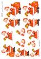 HM Design 3D Klippark - Jultomte med julklapp