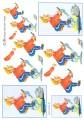 HM Design 3D Klippark - Gubbe som tränar