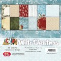 Craft & You Pappersblock - White Christmas