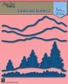 Nellie Snellen - Dies - Shape die blue - Landscape Scene 2