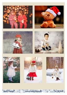 Barto Design Klippark – Vintermotiv barn - Barto Design Klippark – Vintermotiv barn