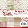 Precious Marieke Pappersblock - Joyful Christmas