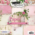 Studiolight Pappersblock, 170 gr - Romantic Botanic 2