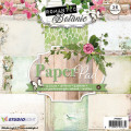 Studiolight Pappersblock, 170 gr - Romantic Botanic