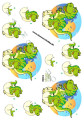Dan design 3D Klippark - Krokodil