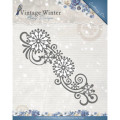 Amy Design Dies - Vintage Winter - Snowflake Swirl Border