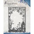 Amy Design Dies - Vintage Winter - Village Frame Straight