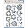 Amy Design 3D Utstansat - Vintage Winter - Wreaths