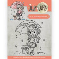 Yvonne Creations - Clearstamp - Lilly Luna - 1 Walking in the Rain
