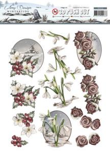 Amy Design 3D Utstansat - Wintertide - Amy Design 3D Utstansat - Wintertide