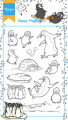 Marianne Design Clearstamp - Hetty´s Happy Penguins