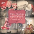 Toppers - Joy - Merry Christmas