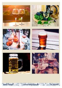Barto Design Klippark - Dryck i glas - Barto Design Klippark - Dryck i glas