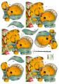 Dan design 3D Klippark - Påskkyckling