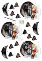 Dan design 3D Klippark - Frisörartiklar
