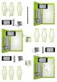 Dan design 3D Klippark - Bärbar dator & Iphone