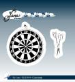by Lene - Clearstamp - Dartboard & Arrows